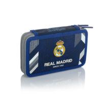 Real Madrid CF két részes tolltartó, íróeszközökkel, 20,5x13x4,5cm