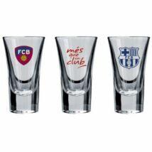 FC Barcelona pohár vodkás 50ML 3db-os