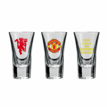 Manchester United pohár vodkás 50ML 3db-os