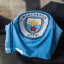Manchester City takaró/pléd 110*140cm