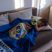 Real Madrid CF takaró/pléd 110*140cm