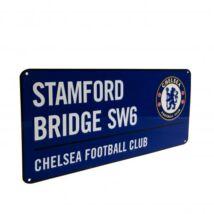 Chelsea FC fém utcanévtábla 40x18cm