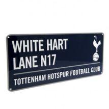 Tottenham Hotspur fém utcanévtábla 40x18cm