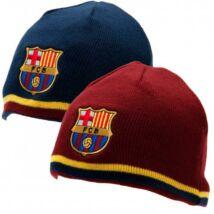 FC Barcelona kifordítható, téli kötött sapka