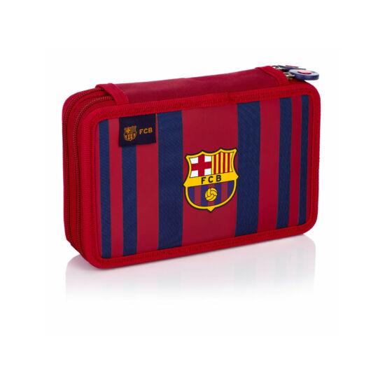 FC Barcelona két részes tolltartó, 20 x 12 x 4 cm