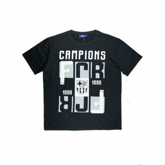 FC Barcelona CAMP férfi póló, fekete