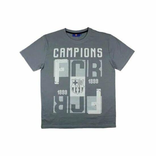 FC Barcelona CAMP férfi póló, szürke