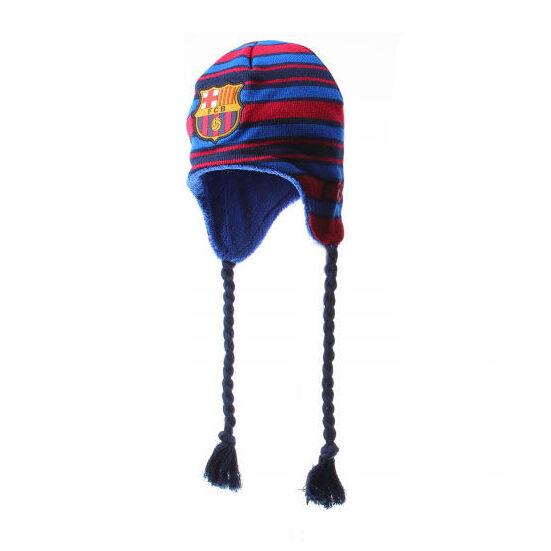 FC Barcelona kötött sapka (piros)
