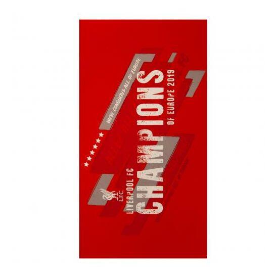 Liverpool FC velúr törölköző 70 x 140 cm