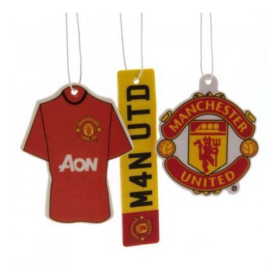 Macnhester United FC 3db-os autó illatosító