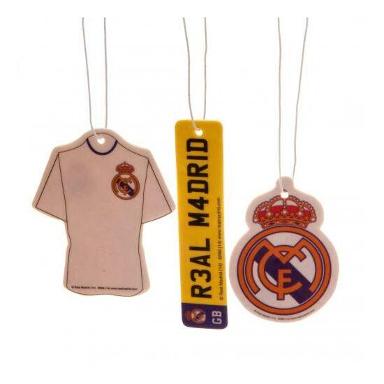 Real Madrid CF 3db-os autó illatosító