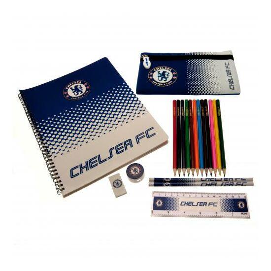 Chelsea FC írószer csomag, tolltartóval