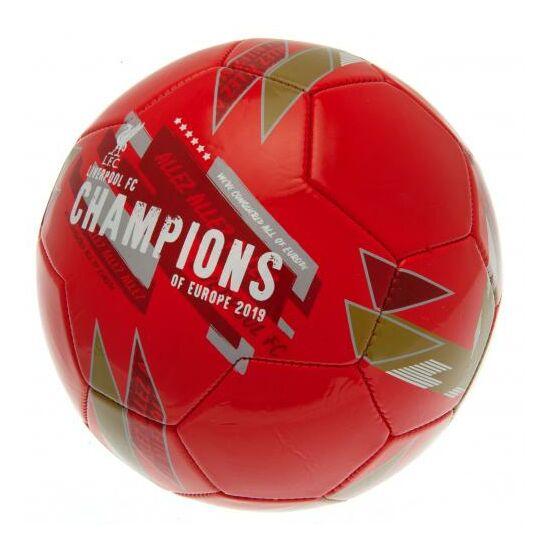 Liverpool FC focilabda Champions Of Europe