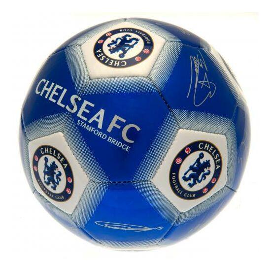 Chelsea FC focilabda, aláírásokkal