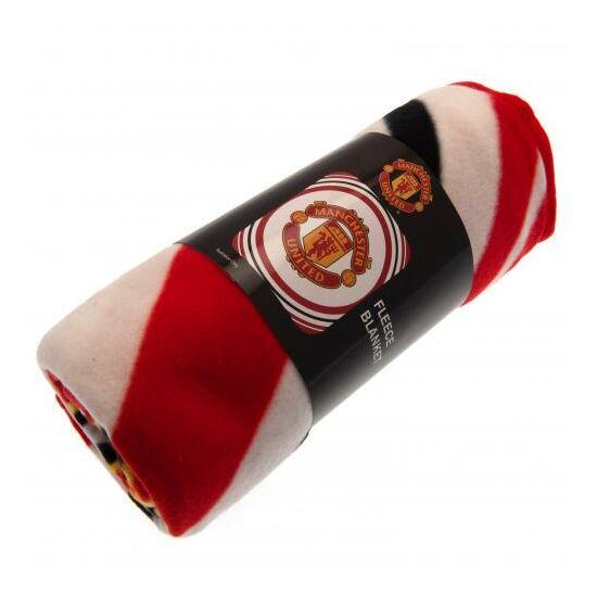 Manchester United FC takaró/pléd 125*150cm