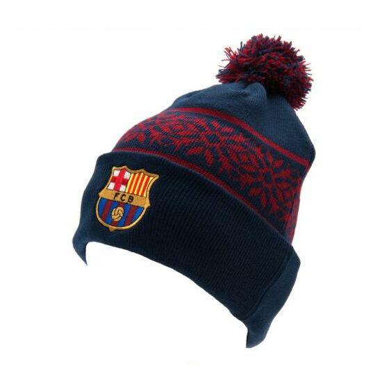 FC Barcelona téli kötött Ski sapka