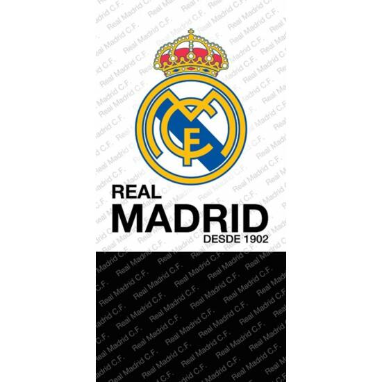 Real Madrid CF törölköző, strandtörölköző 70 x 140 cm